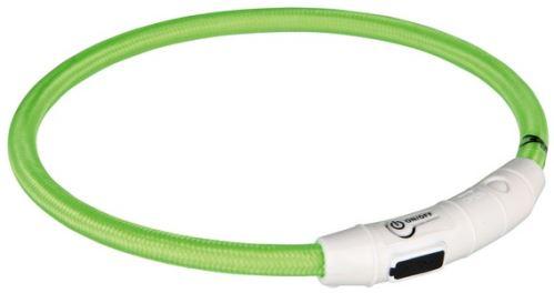 Svítící kroužek USB na krk (zelená)
