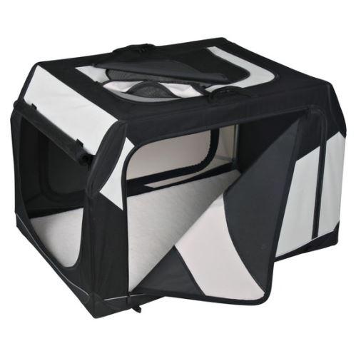 Transportní nylonový box Vario černo-šedý