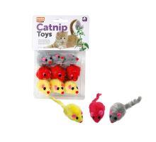 Karlie Hračka pro kočky s Catnipem 9ks v balení