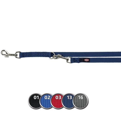 Vodítko PREMIUM prodlužovací 3,00 m/20 mm (M-L), - modré