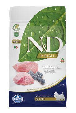 N&D PRIME DOG Adult Mini Lamb & Blueberry
