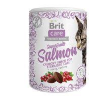 Brit Care Cat Snack Superfruits Salmon  100g