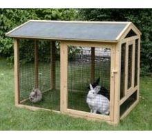 Ohrada venkovní Appartment 116x76x90cm ke králíkárně