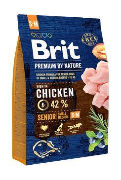 Brit Premium Dog by Nature Senior S+M
