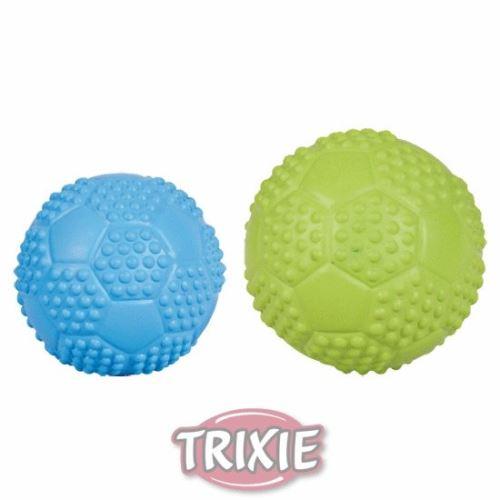 Sportovní míč z tvrdé gumy se zvukem