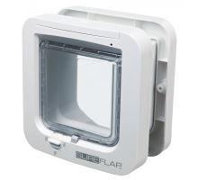 SureFlap DUAL SCAN 4-cestná dvířka na mikročip 21x21 cm  - bílé