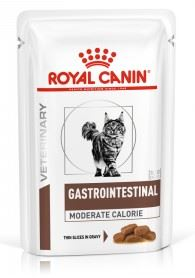 Royal canin VD Feline Gastrointestinal Moderate Calorie Pouch 12x 85g