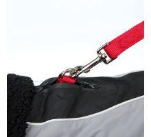 Zimní obleček MARNE černý, s průvlekem na vodítko TRIXIE