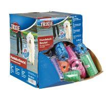 Box se 70 rolemi barevných WC sáčků M (6,50 Kč/kus)