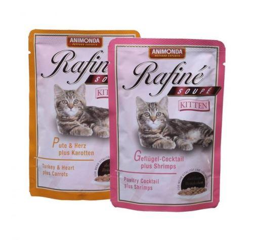 Animonda kapsa Rafiné Soupé Kitten