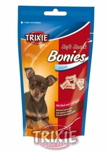 Soft Snack BONIES Light - měkké kostičky hovězí/krůta 75g