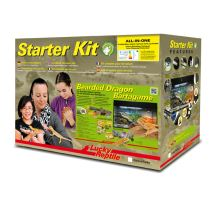 Lucky Reptile Starter Kit Bearded Dragon 80x40x52 cm černé