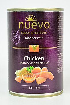 Nuevo kotě kuře konzerva