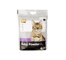 Podestýlka pro kočky s BABY POWDER vůní