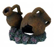 Dekorace antické džbánky 11 cm