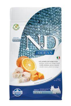 N&D OCEAN DOG LG Adult Mini Codfish & Orange