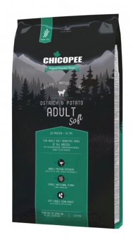 CHICOPEE HOLISTIC SOFT ADULT OSTRICH-POTATO