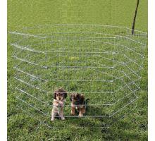 Ohrádka pro štěňata 8 dílů á 60x91cm