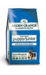 Arden Grange Puppy/Junior Large Breed with fresh Chicken & Rice