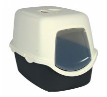 WC kryté DIEGO s dvířky a filtrem 40x40x56 cm tm.šedé/krémov