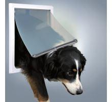 Průchozí dvířka pro psy M-XL dvoucestné 39 x 45 cm
