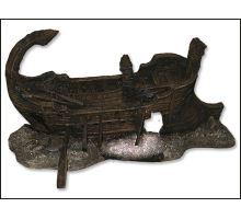 Dekorace akvarijní Torzo lodi 29,5 x 17 x 15,5 cm 1ks