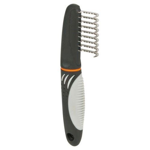 Prořezávač, zahnuté zuby s protiskluz.rukojetí 18 cm/3,5cm