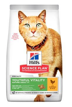 Hill's Feline Dry Adult7+ Youthful Vitality Chicken