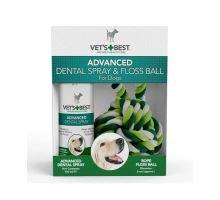 VET´S BEST Dentální sprej + lano pro psy
