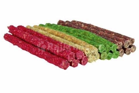 Tyčinka chroupací 9-10mm/12cm mix barev TRIXIE 100ks