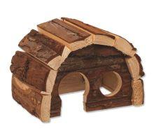 Domek SMALL ANIMAL Hobit dřevěný 15 x 10 x 9 cm 1ks