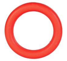 Kroužek plný, tvrdá guma 9cm