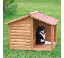 Natura bouda dřevěná chata s terasou 100x82x90 cm