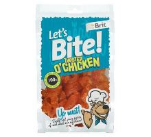 Brit pochoutka Let's Bite Twister o'Chicken 80g
