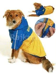 Obleček SPORT Žlutá/Modrá s kapucí 2V1 KARLIE