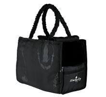 Přepravní taška černá KING OF DOGS 36x26x17cm
