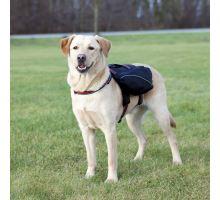 Ruksak na záda pro psa L 29x15 cm černý