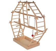 Dřevěný plácek pro ptáky 44x44x16cm TRIXIE