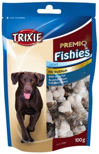 PREMIO Fisheis - kalciová kost obtočená rybí kůží 100 g