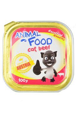 ANIMAL FOOD pro kočky konzerva