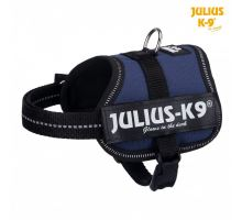 Julius-K9 silový postroj indigo