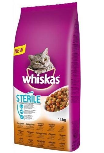 Whiskas Dry kuřecí STERILE