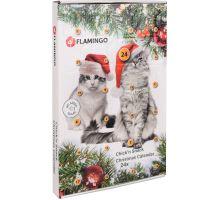 Flamingo Adventní kalendář s kuřecími pamlsky pro kočky