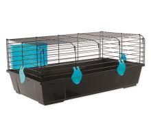 Klec SMALL ANIMAL Matěj černá s modrou výbavou 1ks
