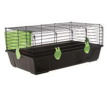 Klec SMALL ANIMAL Michal černá se zelenou výbavou 1ks