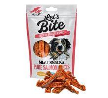 Brit Let's Bite Meat Snacks Pure Salmon Slices 80g