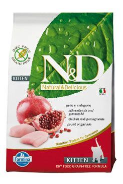 N&D GF CAT KITTEN Chicken & Pomegranate