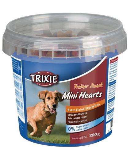 Trainer snack Mini Hearts 200 g - kuře, jehněčí a losos