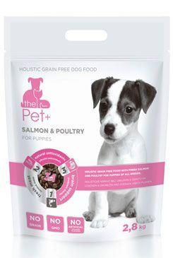 Krmivo Pet+ 3v1 pes SALMON & POULTRY Puppies 2,8 kg