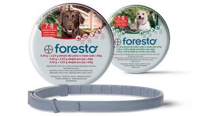 Foresto 70 obojek pro psy + svítící přívěšek ZDARMA